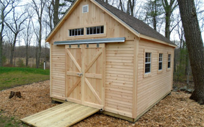 Types of sheds for your yard